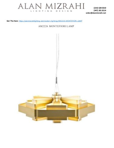 AM2226 MONTEFIORI LAMP