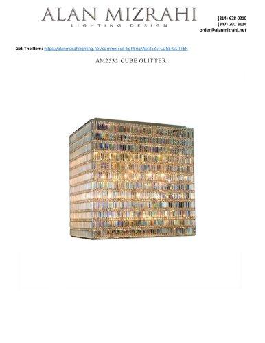 AM2535 CUBE GLITTER