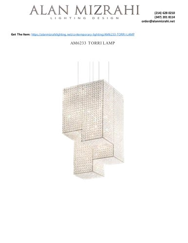 AM6233 TORRI LAMP
