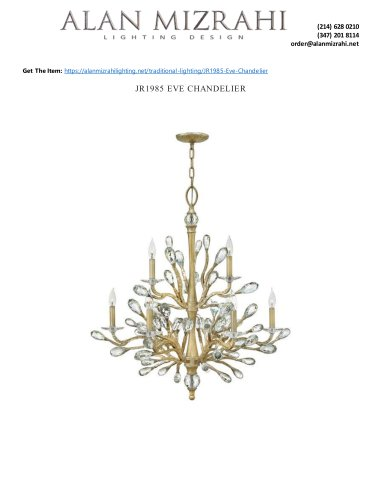 JR1985 EVE CHANDELIER