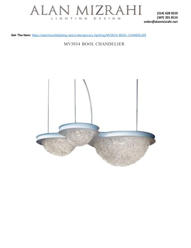 MV3034 BOOL CHANDELIER