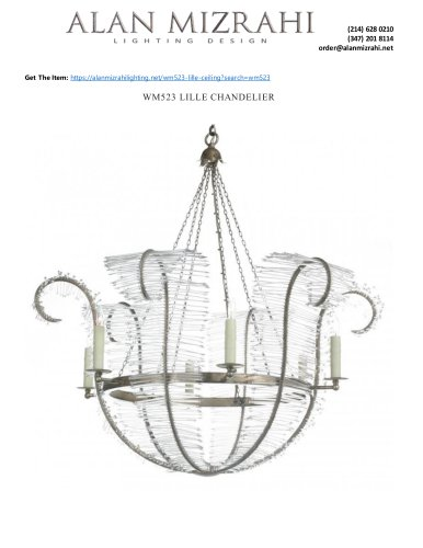 WM523 LILLE CHANDELIER