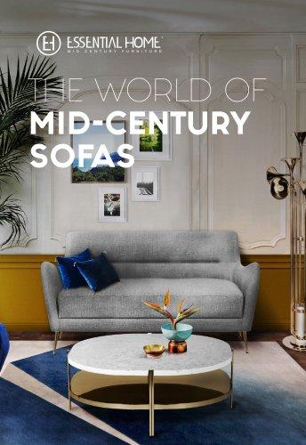 Mid Century Sofas Essential Home Pdf Catalogs Documentation Brochures