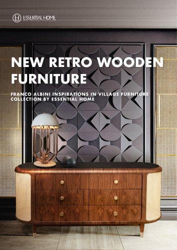 New Retro Wooden Furniture