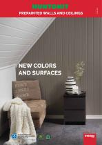 NEW COLORS AND SURFACES