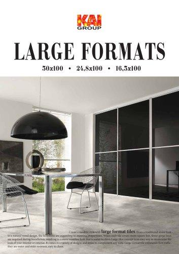 Large Formats 2018