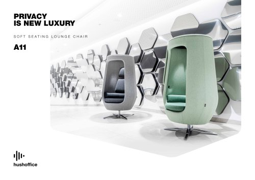 A11 acoustic lounge armchair