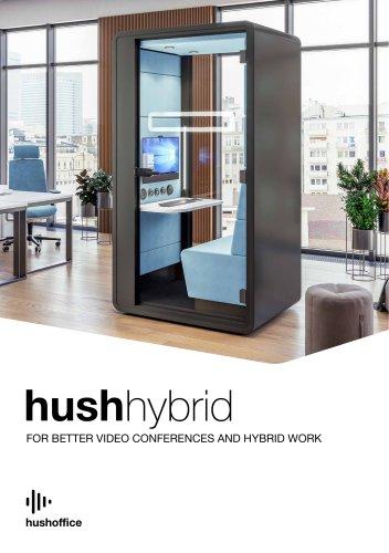 HushHybrid acoustic workpod