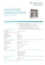 DATA STATION X-SERIES OUTDOOR