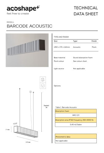 barcode Acoustic