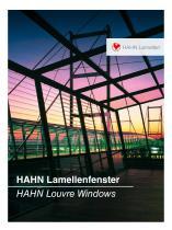 HAHN-Louvre Windows brochure