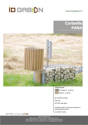 Corbeille PANA