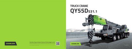 TRUCK CRANE QY55D531.1