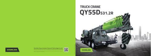 Truck Crane QY55D531.2R