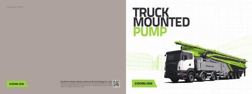 Truck Mounted Pump