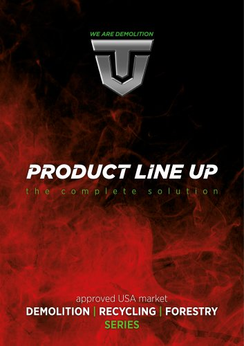 PRODUCT LINE UP USA version