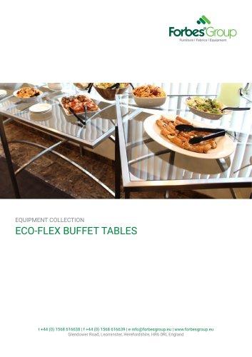 ECO-FLEX BUFFET TABLES