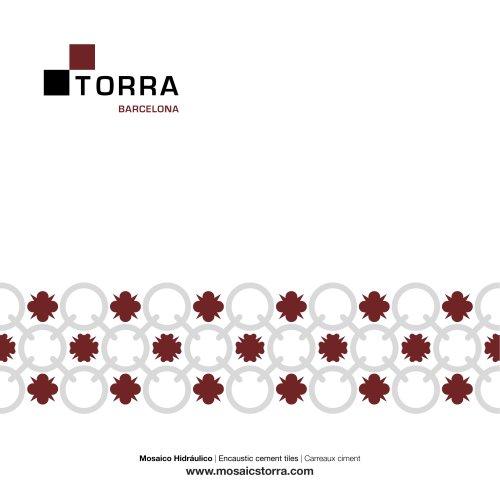 Catalog 2021 Cement tiles Torra Barcelona
