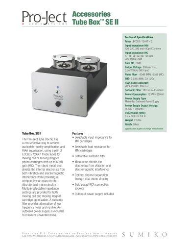 Tube Box™ SE II