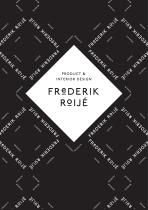 FREDERIK ROIJÉ CATALOGUE 2018