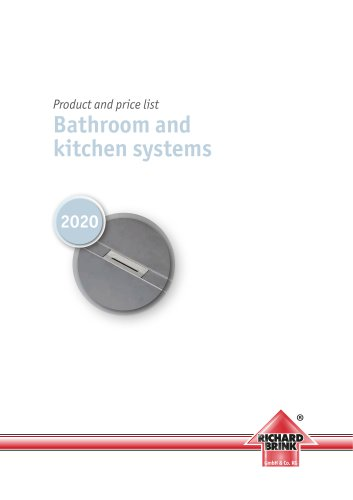Bathroom and kitchen systems