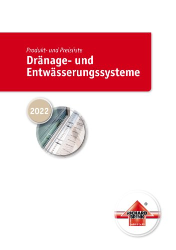 Drainage and dewatering systems