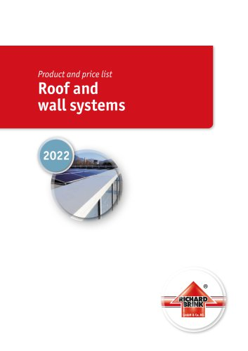 Roof and wall systems