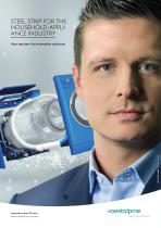 Sub-segment folder household appliance industry