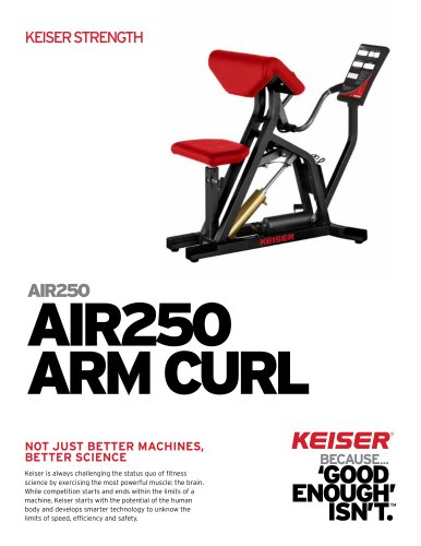 AIR250 ARM CURL