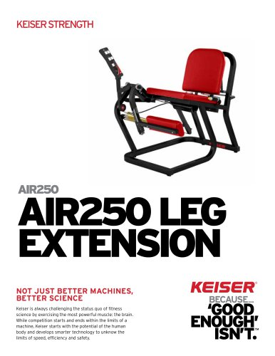AIR250 LEG EXTENSION