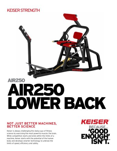 AIR250 LOWER BACK