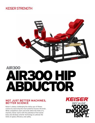 AIR300 HIP ABDUCTOR