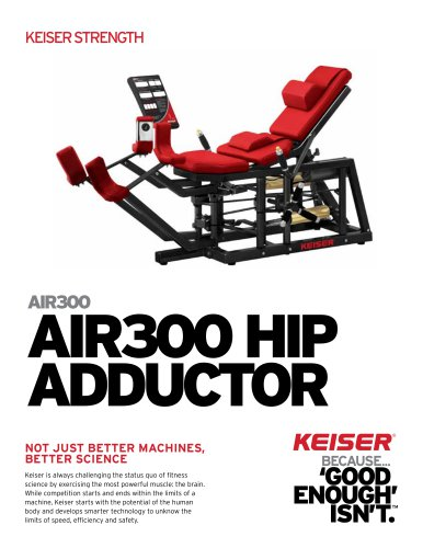 AIR300 HIP ADDUCTOR