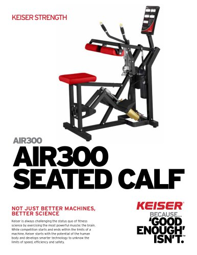 AIR300 SEATED CALF