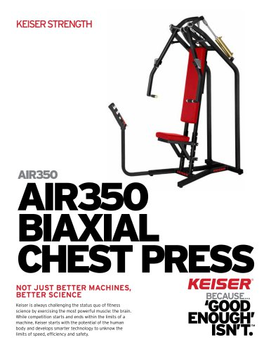 AIR350 BIAXIAL CHEST PRESS