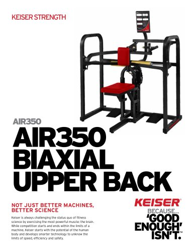 AIR350 BIAXIAL UPPER BACK