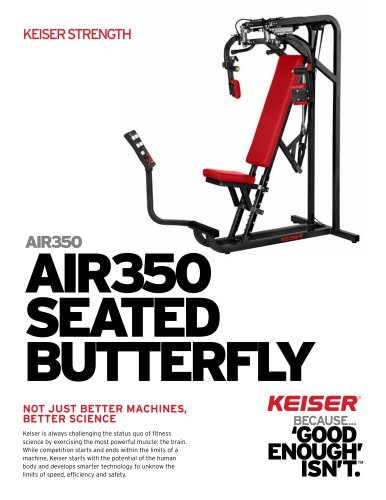 AIR350 SEATED BUTTERFLY
