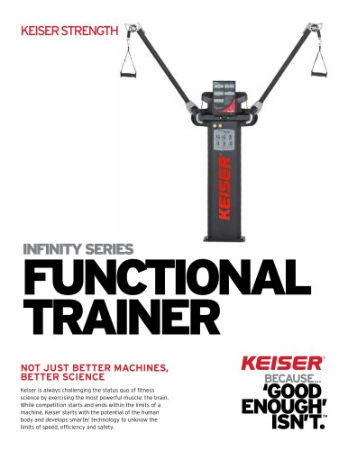 INFINITY SERIES FUNCTIONAL TRAINER