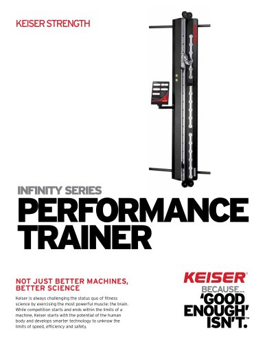 INFINITY SERIES PERFORMANCE TRAINER