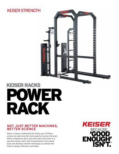 KEISER RACKS POWER RACK