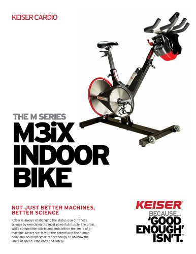 M3iX INDOOR BIKE
