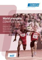 World premiere: CONIPUR V-max