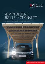 Solar timber carport - 1