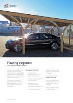 Solar timber carport - 2