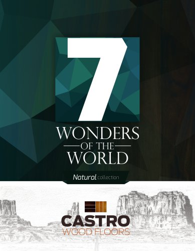 7 Wonders of the World Natural Collection