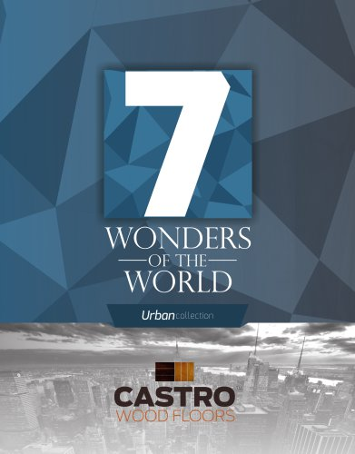 7 Wonders of the World Urban Collection