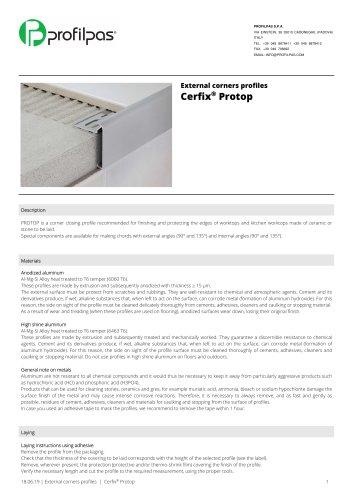 Cerfix®  Protop