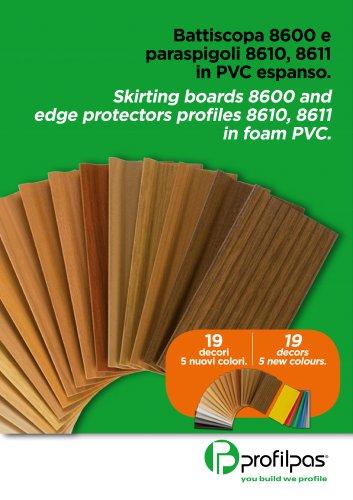 Leaflet Skirting Boards 8600