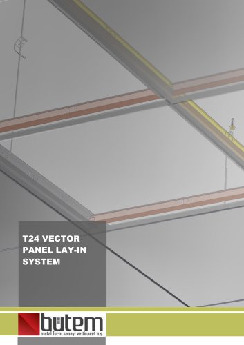 T24 Vector Panel-Lay-in System