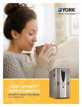 YORK® AFFINITY™ SERIES FURNACES